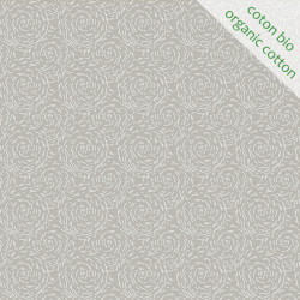 Coton Bio Paille gris