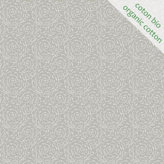 Organic cotton Paille grey
