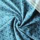 Jersey de coton bio Lapins bleu
