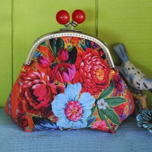 Sewing kit Velvet purse Istambul