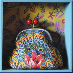 Sewing kit Velvet purse Gala