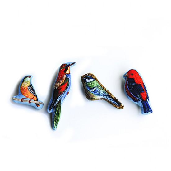Kit 4 broches Oiseaux