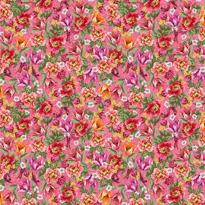 Coton Bio Voltige Rose