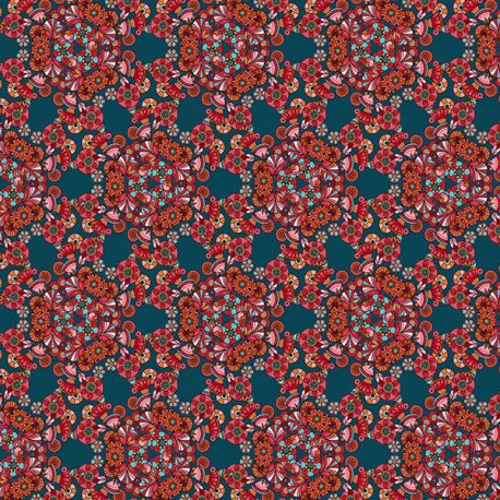 Organic cotton Sequin Flowers