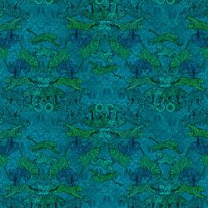 Coton Bio Bengale Bleu