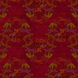 Coton Bio Bengale rouge