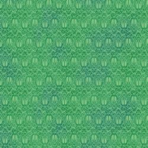 Organic cotton Olympia green