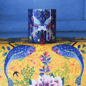 Enchanted pond blue Mug