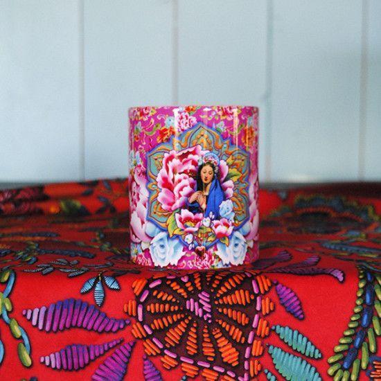 Mug Vierge de Shanghai rose