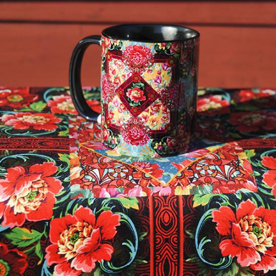 Voltige patchwork Mug