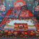 Gipsy caravan Throws 150 x 150 cm
