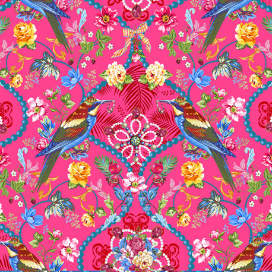 Velours Souple Bijoux de la Reine Rose