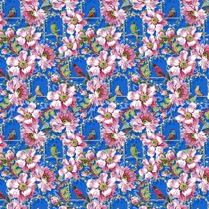 Cotton The Queen's Musicians - Dark blue
