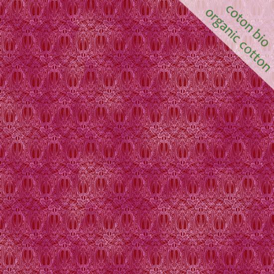 Coton Bio Olympia rose