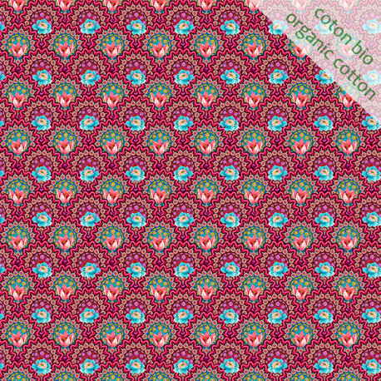 Organic cotton Mini Gala pink
