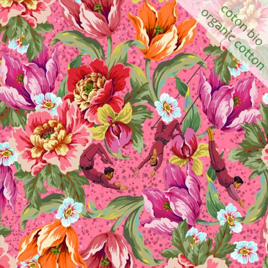 Organic cotton Voltige Pink