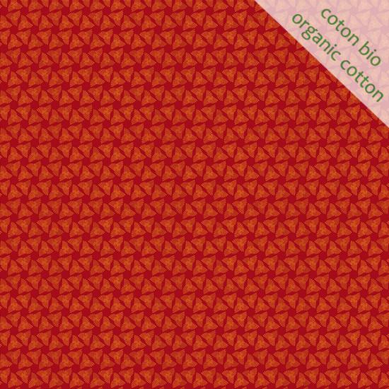 Coton Bio Chapiteau orange