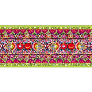 Velvet border Kaffe Fassett Roman Glas - 8m Bobbin