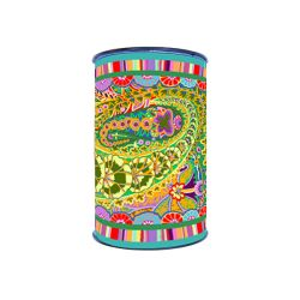 Bordure velours Kaffe Fassett Paisley Jungle bobine de 8m