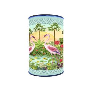 Velvet border Gwenaëlle Trolez Flamingos - 8m Bobbin