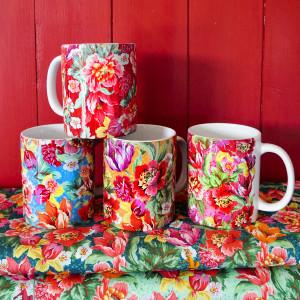 Set of 4 Voltige mugs