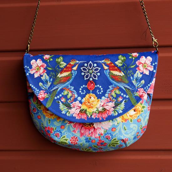 Kit sac Besace de la Reine Bleu