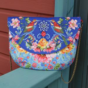 Sewing Kit Queen's Shoulder Bag Blue