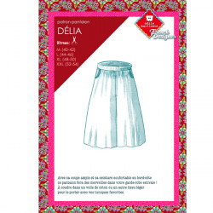 Patrons couture : Pantalon Délia
