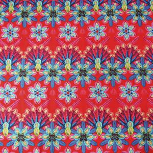 Coton Plumettes rouge