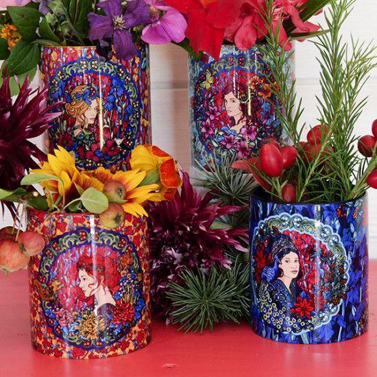 Set of 4 Four seasons mugs