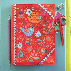 Sewing Kit : Notebook Cover Folk