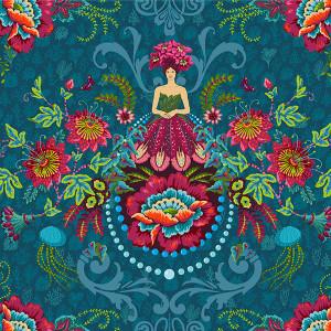Velvet Garden Fairies Petrol