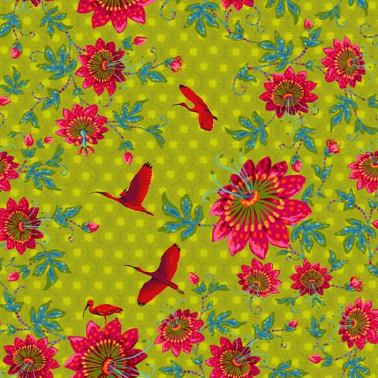 Velvet Ibis Green
