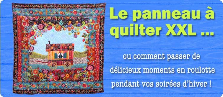 panneau quilt roulotte